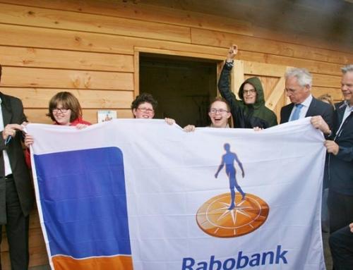 Rabobank West Betuwe maakt Kinderboerderij Zorglandgoed Bloemfonteijn mogelijk.