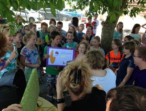 Fantastische opbrengst sponsorloop Basisschool Varik